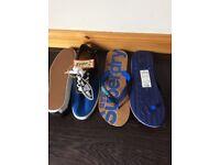 New - Vans casual shoe and super dry flip flops