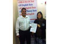 English B1 Test & English A2 Test - 99% PASS RATE + FREE RETRAINING (Derby)