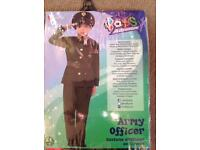 Boys Army Officer Dress Up Costume