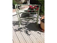 VINTAGE SHABBY CHIC TOWEL STAND