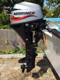 2013 9.9hp L/S Electric start Mariner outboard