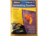 Fellowes ImageLast A3 80 Micron Laminating Pouch Pack of 100 Pouches - New in Retail Packaginging