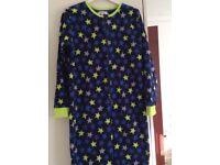 Warm & Cozy Onezy & dressing gown ex.con. 12/13yrs. £5