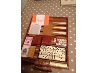 Backgammon game and other games