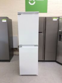 Indesit IB5050A1D Fridge Freezer 50/50 54cm Built In White #372607