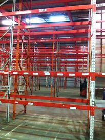 REDIRACK HEAVY DUTY INDUSTRIAL COMMERCIAL WAREHOUSE LONGSPAN PALLET RACKING UNIT
