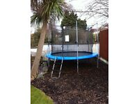 DUPLAY 10ft trampoline £40 ONO