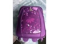 Purple IT hand luggage suitcase