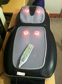 HoMedics Shiatsu - (2 in 1) - Back and Shoulder Massager , with heat and remote