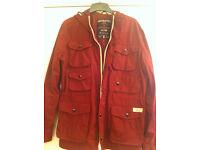 water proof coat jack n jones