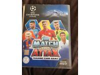 Match attax champions league cards 16/17