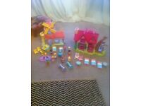 Early learning centre Happyland cottage and windmill