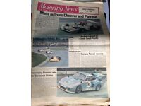 Motoring News (various issues from 1976-1980)