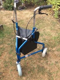 Mobility walker good condition includes bag