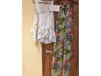 Ladies top and maxi dress