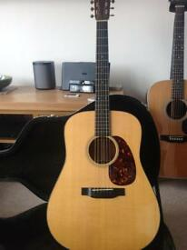 Martin D18 New model (2014) mint condition