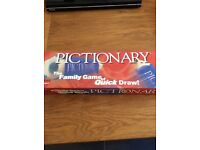Mr & Mrs and pictionary board games