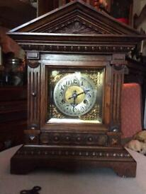 Antique Oak Clock (Sold)