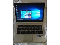 """SSD +i7+16GB ram"""" laptop HP elitebook 8460p 240gb ssd, 2xUSB3.0,1tb usb mini-stick"""