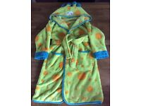 Boys a Monster Mini Mode Dressing Gown Size 4-5 Years