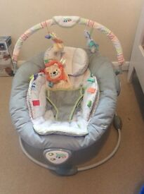 Baby bouncer (Taggies)