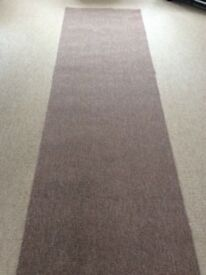 """Brand new carpet Brown 29"""" x 10ft 10"""" collection from Dereham"""
