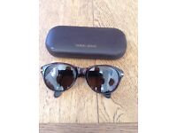 Giorgio Armani brown tortoise shell sunglasses
