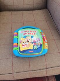 Fisher Price Storybook Rhymes Toy