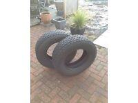 2 tyres 4X4 Yokohama Geolander