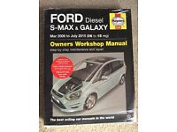 Haynes Manual Ford Diesel S-Max and Galaxy