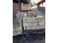 Bradstone concrete bricks new £1 each 11-1/2x6 inches (30mmX150mm)