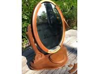 Antique dressing table mirror / with defects