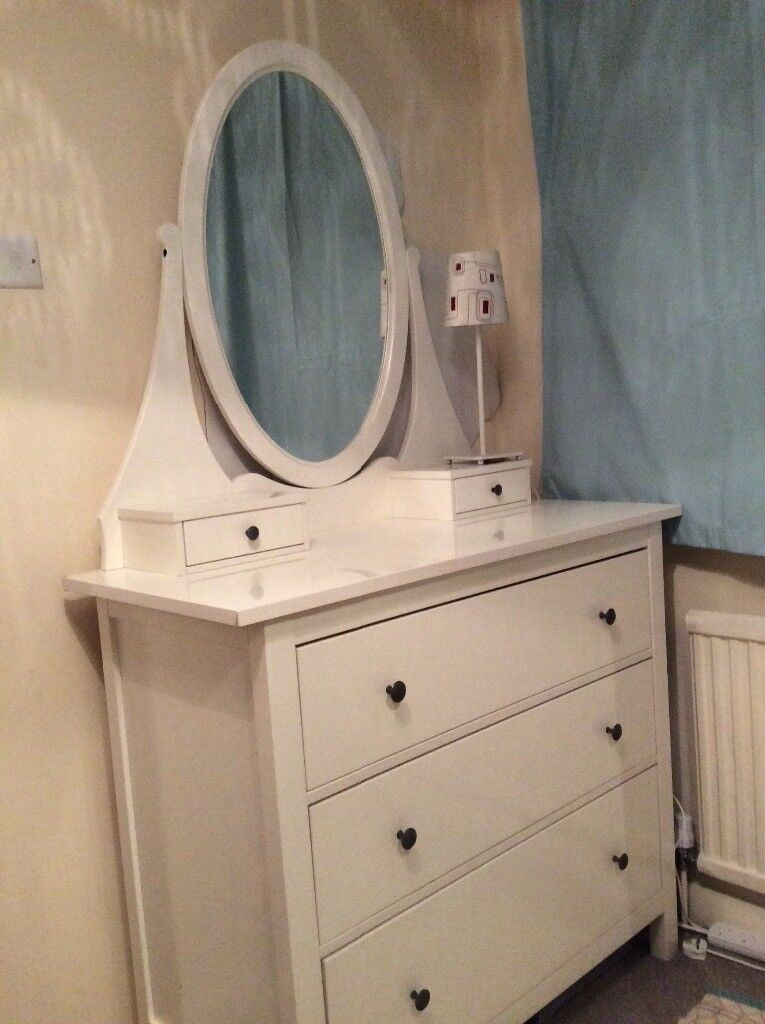 White Chest Of Drawers Dressing Table