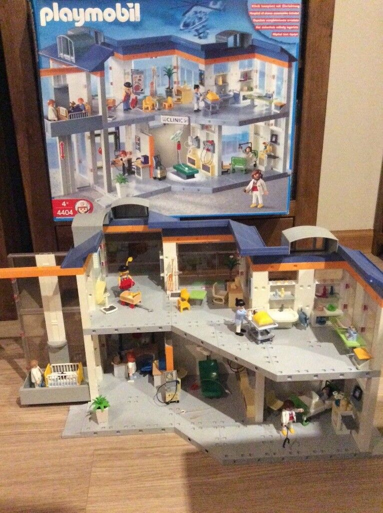 Playmobil Hospital 4404 With An Original Box And Instructions In