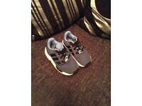 Adidas trainers Size 8k & size 5k