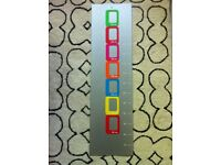 Contemporary Magnetic Metal Growth Chart with Photoholders