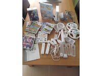 Nintendo Wii large bundle