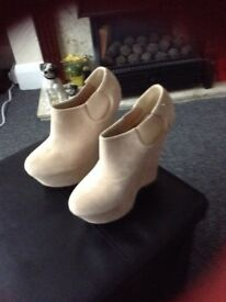 Fawn shoes