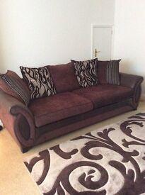 4-Seater Pillow Back Sofa