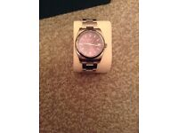 Men's Rolex Oyster Perpetual red grape 116000 as new excellent condition.