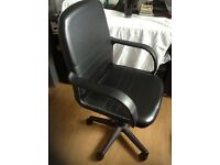 Swivel chair ,faux leather suitable for computer desk