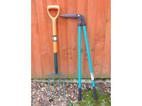 Garden Fork and Tree Lopper Shears