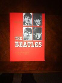 the beatles 1964 australian tour programme