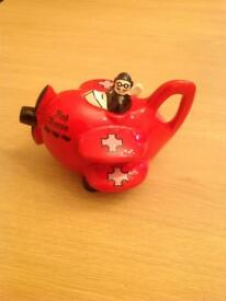 Red Baron Teapot