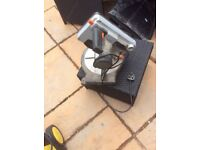 Electric circular mitre saw drop saw ideal wood cutting 2x2 cls joiner Builder diy