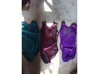 Gymnastics leotard 3 pack bundle