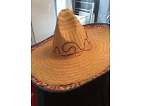 Mexican fancy dress hat