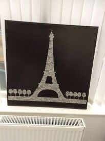 Eiffel tower black and white Print Exc con