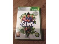 Xbox 360 Sims 3 game