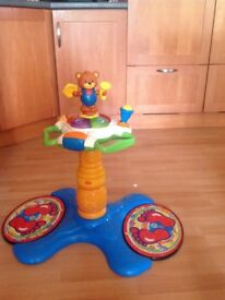 Vtech Sit to Stand Dancing Tower, excellent condition , collection only